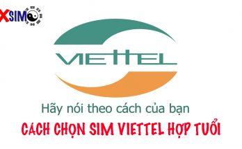 Cách chọn sim Viettel hợp tuổi