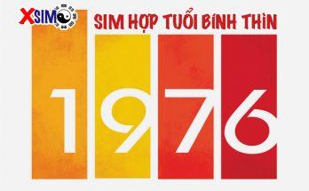 7 yếu tố chọn sim hợp tuổi BÍnh Thìn 1976