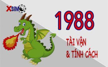 Tính cách và tài vận của người sinh năm 1988