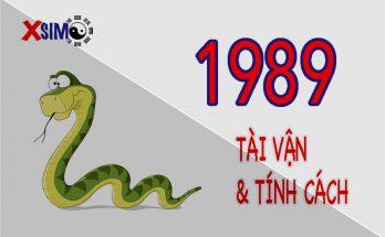 Tính cách và tài vận của người sinh năm 1989