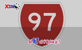 Số 97 có ý nghĩa gì, Trong phong thủy số nói lên điều gì